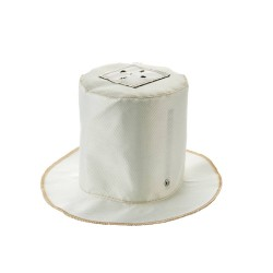 Round Fire Hood for Downlights 150mm height x 150mm diameter, Fire rated to 60 Mins