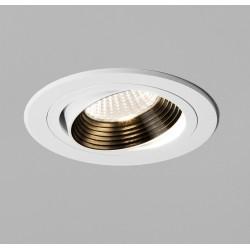 Aprilia Round LED Downlight Adjustable in Matt White 6.1W 604lm 2700K LED IP21, Astro 1256024