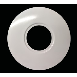 White Circular Conversion Plate, 70mm - 180mm Conversion Plate for Downlights