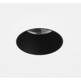 Void 80 Downlight in Matt Black IP65 Fire Rated using 1 x GU10 6W LED Dimmable Round Fixed Astro 1392016