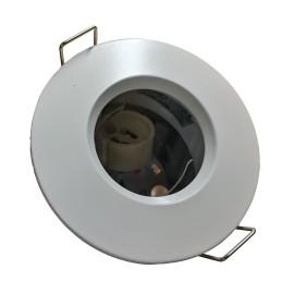 IP65 Fire Rated Fixed Round Downlight GU10 in Matt White Aurora DLM983MW 90mm Diameter Bezel