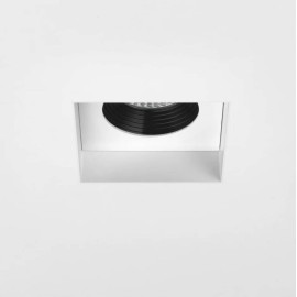 Trimless Square Fixed LED Downlight Fire Rated in Matt White 6.8W 2700K LED IP20, Astro 1248012