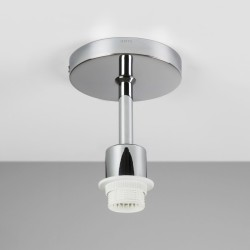 Semi Flush Ceiling Light in Polished Chrome using 1 x 12W max LED E27/ES (no shade), Astro Lighting 1362001