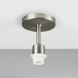 Semi Flush Ceiling Light in Matt Nickel using 1 x 12W max LED E27/ES (no shade), Astro Lighting 1362002
