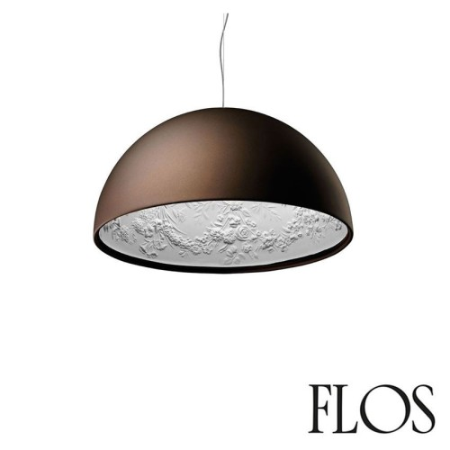 Flos Skygarden 1 Suspension Pendant Lamp in Rusty Brown designed by Marcel Wanders (Italian Lighting)