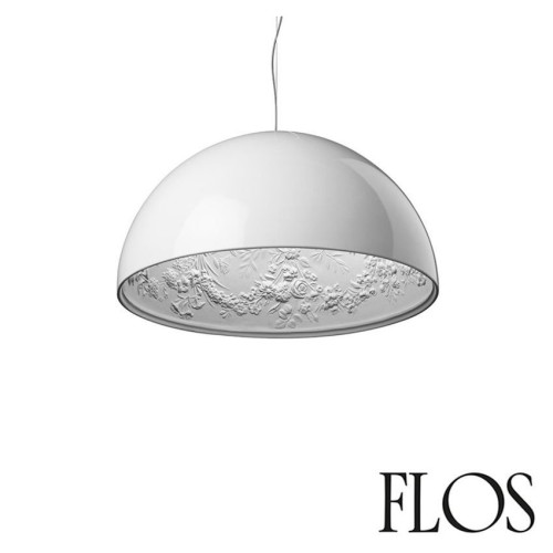 Flos Skygarden 1 Suspension Pendant Lamp in White designed by Marcel Wanders (Italian Lighting)