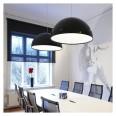 Flos Skygarden 1 Suspension Pendant Lamp in Black designed by Marcel Wanders, Award Winning