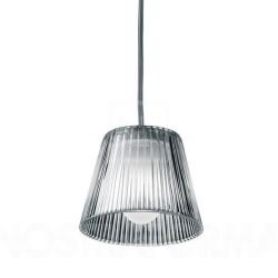 Flos Romeo Babe S Grey Pendant designed by Philippe Starck, Flos F6124000 Suspension Lamp