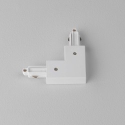 90 degrees Corner Connector Left in Matt White for Astro Lighting Track System, Astro 6020006