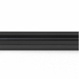 Astro Lighting 240V Track 1000mm (1m) in Matt Black for Ceiling Mounting, for use with Astro Spots, Astro 6020009