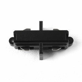 Matt Black Track End-to-End Connector for use with Astro Lighting Track System, Astro 6020012