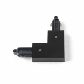 90 degrees Corner Connector Left in Matt Black for Astro Lighting Track System, Astro 6020014