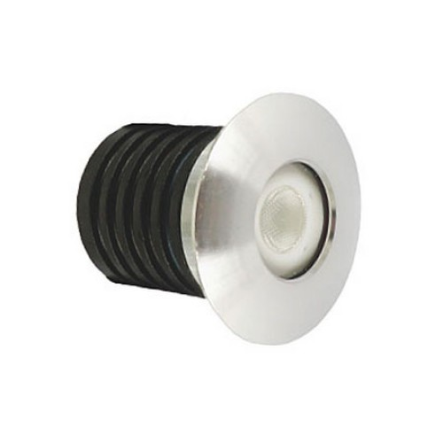 IP65 rated 1W LED Marker Light 4000K Cool White 95lm in Aluminium (Walkover LED)