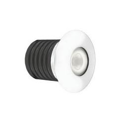 IP65 1W LED Marker Light 3000K Warm White 85lm Powder Coated (Paintable Walkover LED)