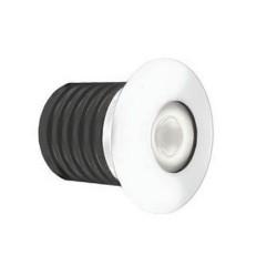 IP65 1W LED Marker Light 4000K Cool White 95lm Powder Coated (Paintable Walkover LED)