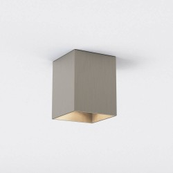 Kinzo 140 Matt Nickel Ceiling LED Light 12.5W 2700K IP20 rated Dimmable Astro 1398019