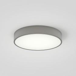Mallon LED Matt Nickel Bathroom Ceiling / Wall Light Glass Diffuser 16.2W 2700K IP44 Astro 1125005