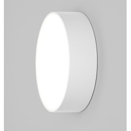 Kea 250 Round LED Light in Textured White IP65 3000K 12.6W LED Bulkhead for Wall/Ceiling, Astro 1391003