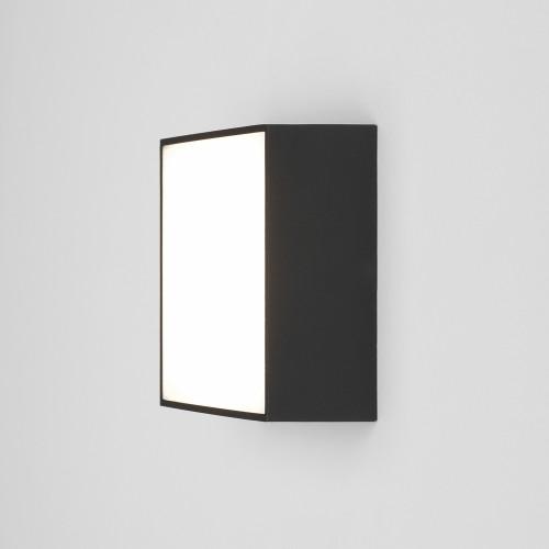 Kea 140 Square LED Light in Textured Black IP65 3000K 5.3W LED Bulkhead for Wall/Ceiling, Astro 1391006