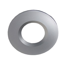 Satin Nickel Bezel Cover for the ELAN-LED COB 10W Fixed LED Downlights