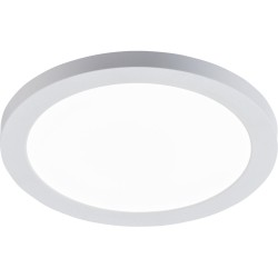 18W 217mm Round White LED Panel CCT Adjustable for Recessed / Surface Ceiling Mounting 55-175mm Cutout