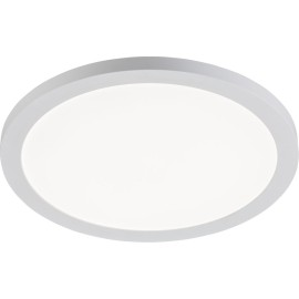 24W 290mm Round White LED Panel CCT Adjustable for Recessed / Surface Ceiling Mounting 55-250mm Cutout