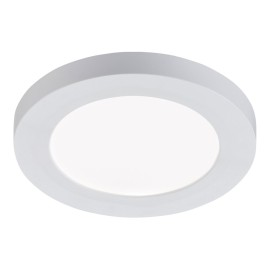6W 140mm Round White LED Panel CCT Adjustable for Recessed / Surface Ceiling Mounting 55-100mm Cutout