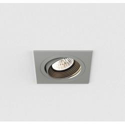 Aprilia Square LED Downlight (adjustable) in Anodised Aluminium 7W 3000K LED IP21 Dimmable, Astro 1256006