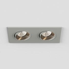 Aprilia Twin Adjustable LED Downlight 2700K in Anodised Aluminium using 2 x 6.1W LED IP21 rated, Astro 1256023
