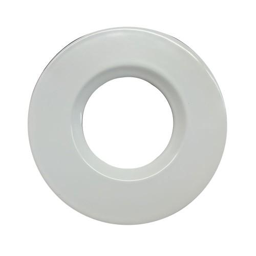 White Bezel Cover for the ELAN-LED COB 10W Fixed LED Downlights