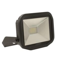 38W IP65 rated Slimline LED Floodlight 5000K Neutral White 3000lm, Luceco Guardian LFS30B150-02