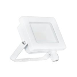 10W IP65 White Slim CCT LED Floodlight Tri-Colour Selectable 3000K, 4000K, 6000K, All-LED Hunter 10W LED Flood