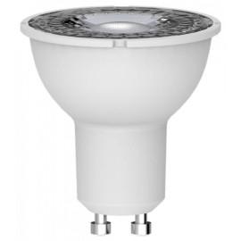 5W 4000K Dimmable GU10 LED Spotlight Lamp PAR16 36deg Beam 410lm, Low Energy Economy LED Light Bulb Megaman 142652
