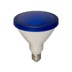 15W ES/E27 Blue LED Lamp PAR38 1300lm 3000K Warm White, Non-dimmable LED Flood Light equiv. 120W