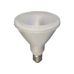 15W ES/E27 Clear LED Lamp PAR38 1300lm 3000K Warm White, Non-dimmable LED Flood Light equiv. 120W