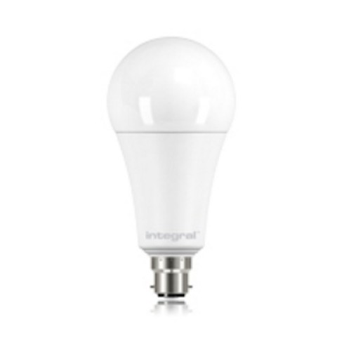 14.5W BC/B22 Classic Globe GLS Non-Dimmable LED Lamp 1921lm 2700K Frosted Lamp, Integral LED ILGLSB22NC100