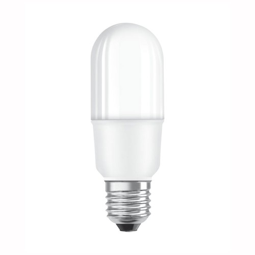 10W E27/ES LED Lamp Frosted White 2700K 1050lm with a Classic Stick Shape Non-Dimmable, Osram Parathom Stick LED