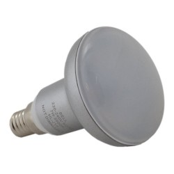 7W R50 E14/SES LED Lamp Warm White 3000K 450lm, Non-Dimmable LED Reflector Lamp