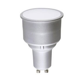 5W Long Neck GU10 LED Lamp 3000K Warm White Non-Dimmable 400lm with 100deg beam Angle
