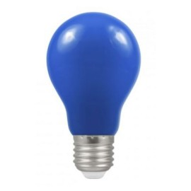 1.5W ES/E27 Blue Coloured LED Lamp with GLS shape and IP65 Rating, Non-Dimmable