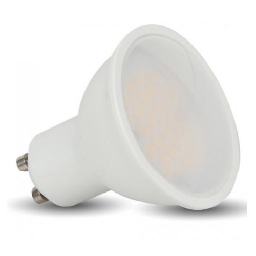 5W GU10 PAR16 LED Lamp 3000K Warm White 400lm 110 deg Beam, Non-Dimmable LED Spotlight