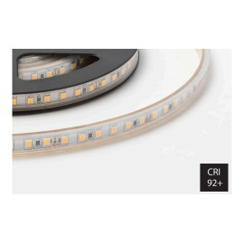 10W/m 2700K 24V IP20 rated Dimmable 5m Reel LED Strip 120LEDs/m, FossLED FLS3-0G1S31 ECO Single Colour