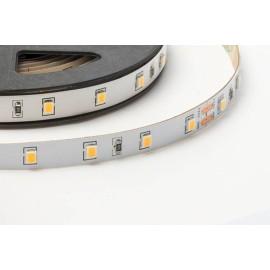 12W/m 3000K Dimmable Self-Adhesive LED Striplight 24V DC IP20 120deg Beam Angle 1020-1170lm/12W 5m Reel, FossLED FLS4-0C1S41