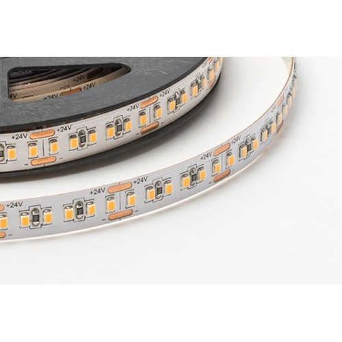IP20 9W/m 3000K Dimmable Linear LED Striplight 600-700lm/m 24V CRI 94+, Self-adhesive Foss LED FLSL2-0C1L21