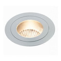 IP65 7W 4000K 440lm In-Ground Uplight LED Marker Light Low Profile Aluminium, 60mm Cutout
