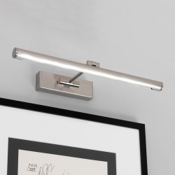 Goya 460 LED Wall Picture Light 7.1W 2700K in Brushed Nickel with Adjustable Head IP20, Astro 1115007
