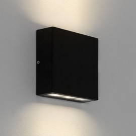 Elis Twin LED Lamp Textured Black 7.7W 3000K IP54 for Up/Down Outdoor Wall / Ceiling Lighting, Astro 1331002