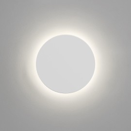 Eclipse Round 250 LED Plaster Wall Light 10.4W 3000K 452lm 250mm Diameter Paintable, Astro 1333002