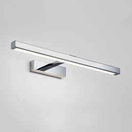 Kashima 620 LED Bathroom Wall Light in Polished Chrome 8.2W 3000K for Above Mirror IP44 Non-Dimmable, Astro 1174004