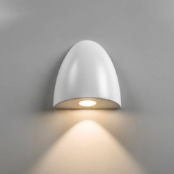 Orpheus LED Wall Light 2W 2700K in Textured White for Downlighting Dimmable Astro 1348002